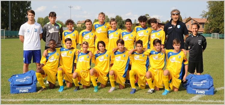 funo calcio squadra giovanissimi 2003